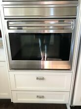 Wolf 30  Single Framed Electric Oven Stainless Steel  Orange County  CA Pick Up
