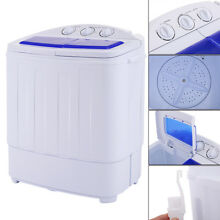 Compact Portable Washer   Dryer with Mini Spin Dryer  and Washing Machine