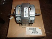 NEW Genuine Whirlpool 35001057  Dryer Motor Blower Factory Certified