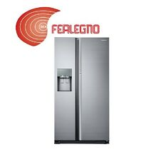 REFRIGERATOR AMERICAN SIDE BY SIDE STAINLESS CLASS A ART RH56J69187F SAMSUNG