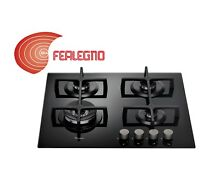 GAS HOB BLACK 23 5 8in CONTROL FRONT 4FUOCHI GOA6423 NB WHIRLPOOL