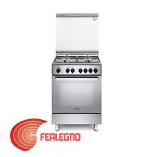 Kitchen Stainless 23 5 8X23 5 8in 4 Burners Gas Oven Electric Multifunction