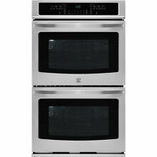 Kenmore Kenmore 49523 27  Self Clean Double Electric Wall Oven w Convection   S