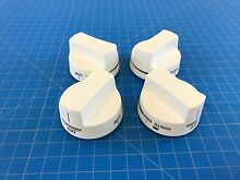 Genuine Whirlpool Range Oven Surface Burner Knob 8522623 8522624 Set of 4