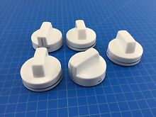 Genuine Whirlpool Range Oven Surface Burner Knob W10160648 W10134130 Set of 5