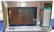 Sharp Commercial Microwave 1200 Watts Model 1200W R 22GV Nice Oven Very Clean