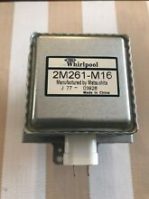 KitchenAid MICROWAVE OVEN MAGNETRON 2M261 M16 By Whirlpool