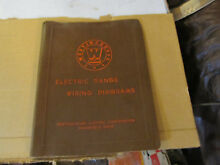 Westinghouse Electric Range wiring diagrams manual 4 Vintage 1930 s 1950 s RARE