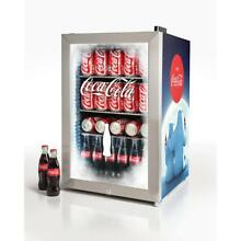 Nostalgia Coca Cola 80 Can Limited Edition Commercial Beverage Cooler Blue