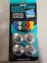 WHIRLPOOL 4378470 ELECTRIC RANGE KNOB 12 PC  KIT