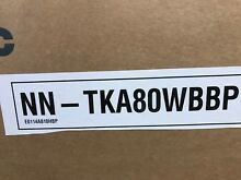 PANASONIC NN TKA80WBBP MICROWAVE BUILT IN TRIM KIT WHITE   NEW BOXED