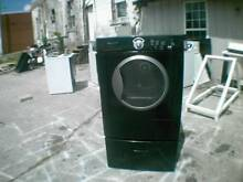 Black Frigidaire Front Load Dryer On A Pedestal New Heating Element  Cleaned Out
