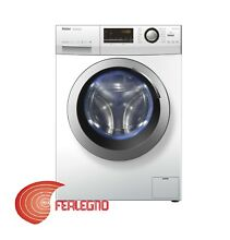 FRONT LOAD WASHER WHITE 17 6 lbs CLASS A 1400GIRI HW80 BP14636 HAIER