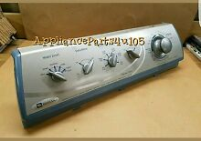 Maytag washer console with Timer 21002232 with knobs included