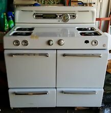 Vintage 50s ROPER Complete Double Gas Oven Broiler Excellent Condition