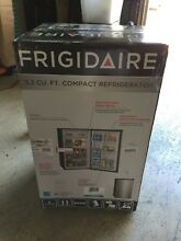 Frigidaire FFPE33B1QM 3 3 Cu  Ft Compact Mini Refrigerator  LOCAL PICK UP ONLY