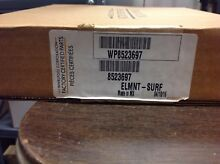 Whirlpool Stove Radiant Burner Surface Element W10823699  8523697  WP8523697