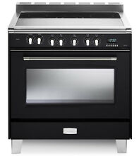 Verona Classic VCLFSEE365E 36  Electric Range 5 Elements Single Oven Matte Black
