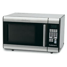 Stainless Steel Finish Chrome Handle 1 cu ft 1 000 Watt Countertop Microwave
