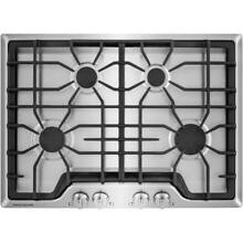 Frigidaire Gallery FGGC3045QS Stainless Steel 4 Burner 30  Gas Cooktop