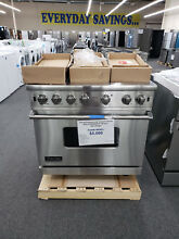 Viking Professional Custom Series VGCC5366BSSLP 36 Inch Gas Range