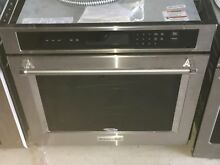 KitchenAid 27  Stainless Steel Single Wall Oven   KOST100ESS