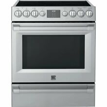 Kenmore PRO 92583 5 1 cu  ft  Self Clean Electric Range in Stainless Steel