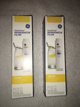 Two OEM GE SMARTWATER INTERIOR REFRIGERATOR FILTER REFILL GSWF NEW SEALED