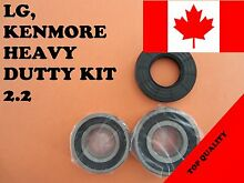 LG FRONT LOAD WASHER 2 TUB BEARINGS   SEAL Kenmore  KIT   2 2   4036er2004a