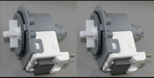 2 x  LG Washer Dryer Combo Water Drain Pump WD 1255RD WD 1256RD WATER PROOF