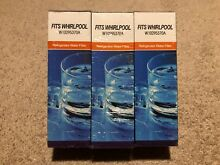 3 PK Alpine Refrigerator Water Filter W10295370A Fits Whirlpool Kenmore   NEW