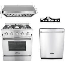 Thor range hoods 30 inch stainless steel 30 inch Gas Range Stove 24 Dishwasher
