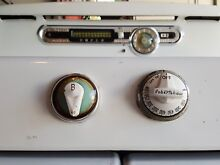 Vintage Retro 50s ROPER Complete Working Double Gas Oven Broiler