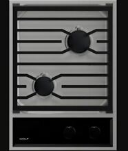 Wolf  CG152TFS 15 Inch Gas Cooktop