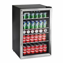 126 Can Beverage Center  Stainless Steel Glass Door Beer  Wine S