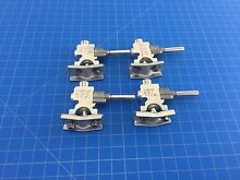 Genuine GE Range Oven Gas Valve WB19T10020 WB19T10021 WB19T10022 Set of 4