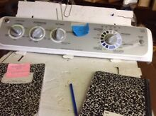 GE Washer Control Panel  Wh12X10475  Model GTWN4450MOWS  bgs