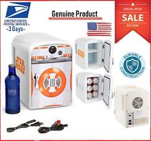 Star Wars Premier Bb8 4Liter Fridge Mini Travel Camping Warm Cold Refrigerator