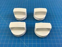 Genuine Whirlpool Range Oven Surface Burner Knob W10339443 WPW10339443 Set of 4