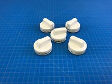 Genuine Whirlpool Range Oven Surface Burner Knob W10160650 W10134132 Set of 5