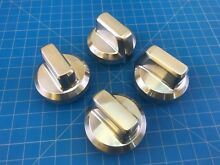 Genuine Amana Range Oven Surface Burner Knob W10844796 W11164105 Set of 4