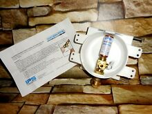 Water Tite 88372 Round Mini Lead free Ice Maker Outlet Box w  Hammer Arrester
