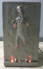 Star Wars 3D Han Solo in Carbonite 12L Thermoelectric Cooler Fridge W Light