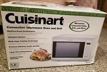 Cuisinart Stainless Steel Convection Microwave Oven   Grill n