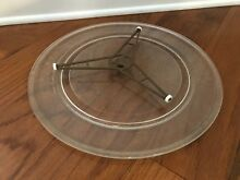 16  Kenmore Microwave Turntable Glass Tray Plate and Support Triangle Part