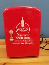COCA COLA Koolatron Personal Electric Car Mini Fridge 2008 Edition   Works Nice