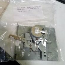 Model  JBP85BB4BB Ge electric range Oven door lock assembly Part  WB30T10018