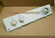 GE Dryer console with Timer 131850900 with switches and knobs included