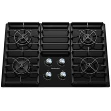 KitchenAid Architect II Gas Cooktop  Black   Common  30 in  Actual 30 188 in