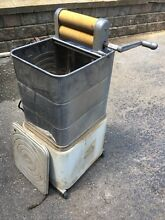 Industrial Antique monitor washing machine Portable Electric Washer Vtg